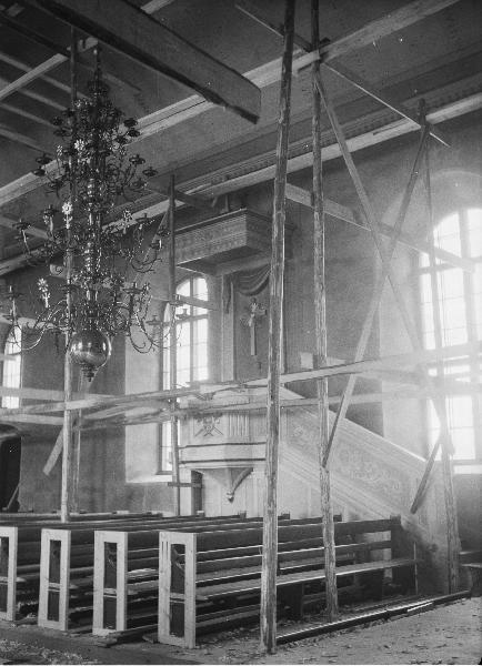 Norra Rda kyrka 1961. - Vrmlands Museum / DigitaltMuseum