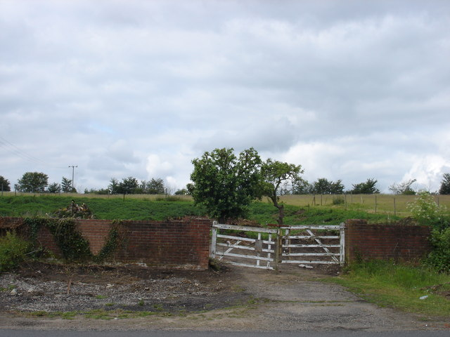 Old Farm Gates On Loraine Way