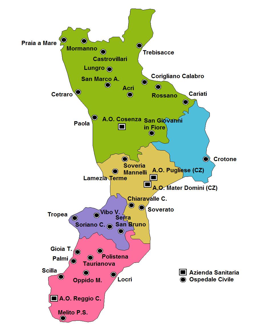 Mappa Muta Calabria Ionica