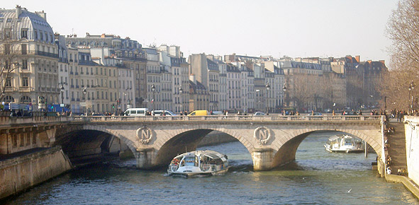 Saint Michel Paris France Paris v Pont Saint-michel