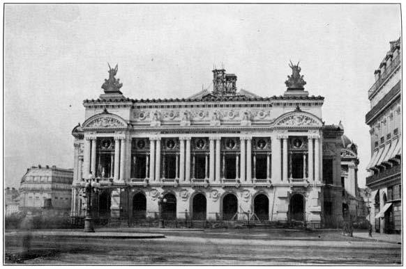 Teatro de la Opera de París, donde estrenó Samson et Dalila en 1892 (hacia 1900).