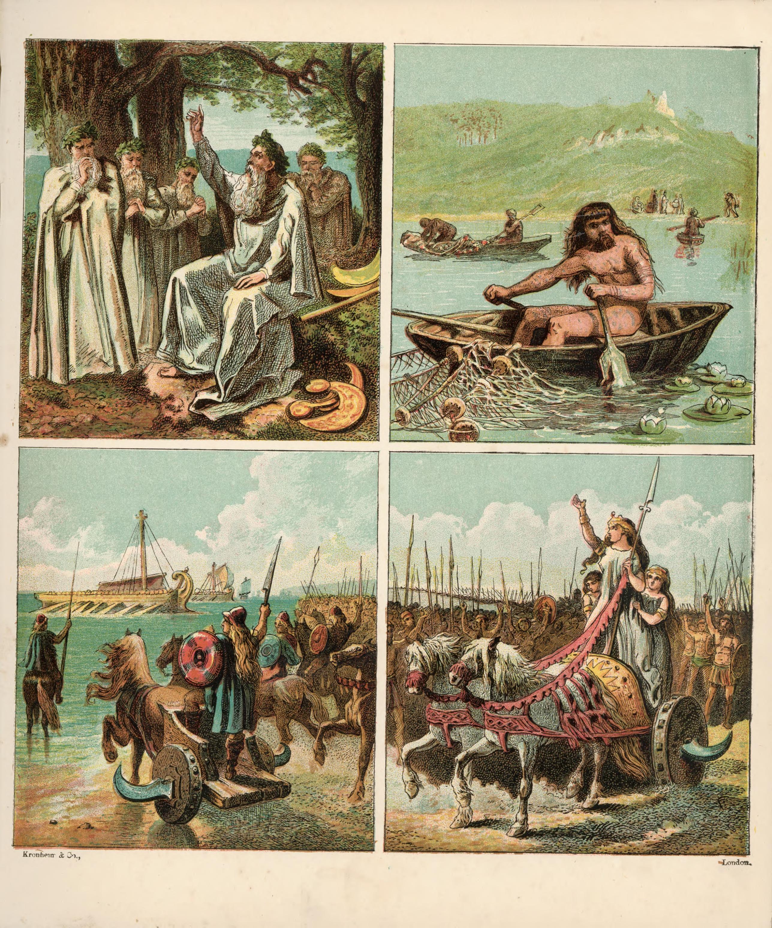 Depiction of Sociedad protoindoeuropea