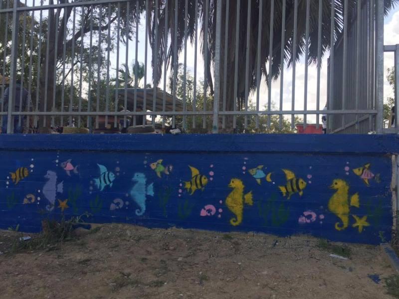 ציור על הקיר