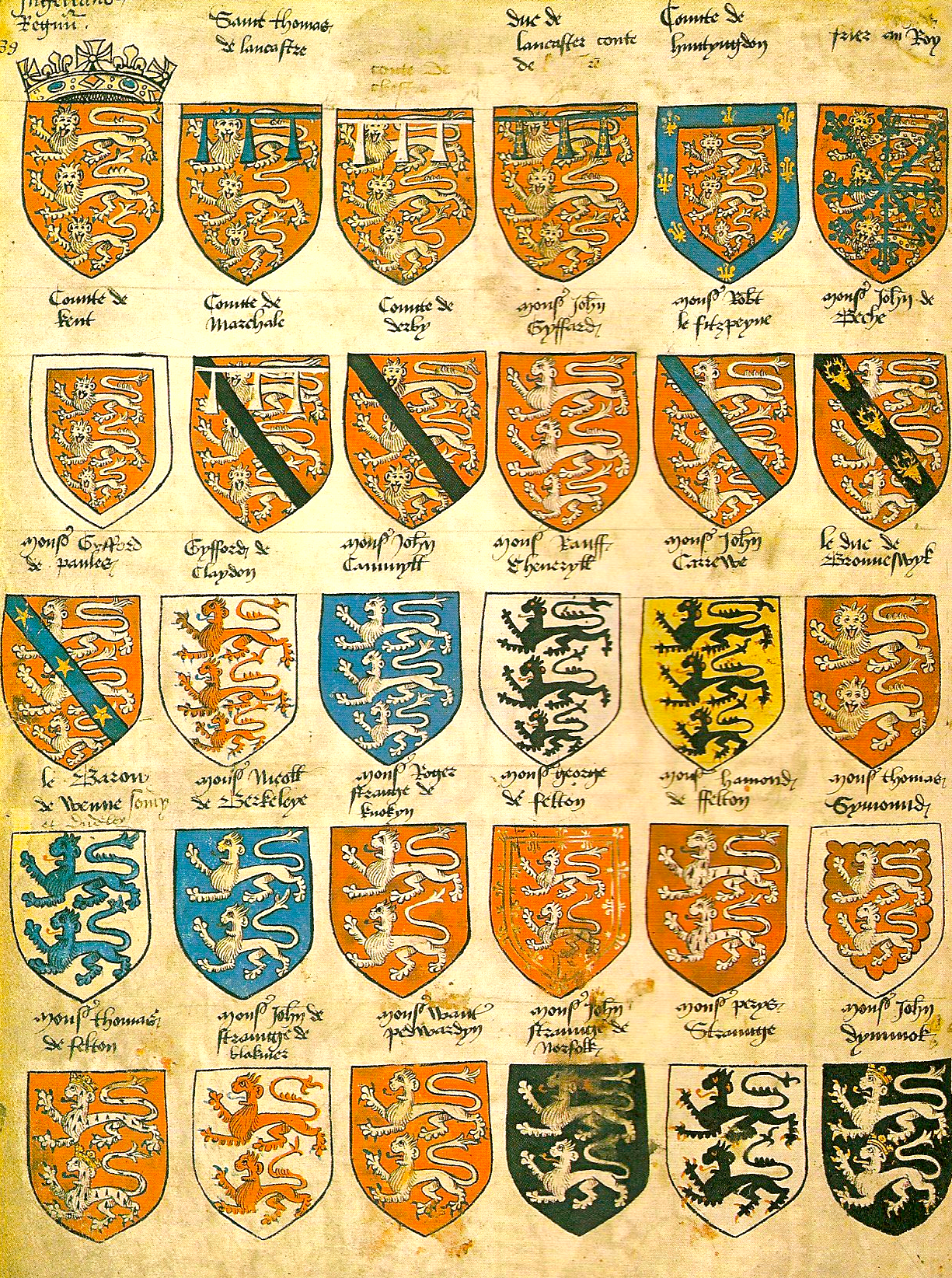 File Prince Arthur S Book Armorial Png Wikimedia Commons
