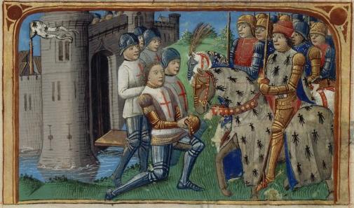 Reddition de Fougères devant l' armée de François Ier, duc de Bretagne - Vigiles de Charles VII