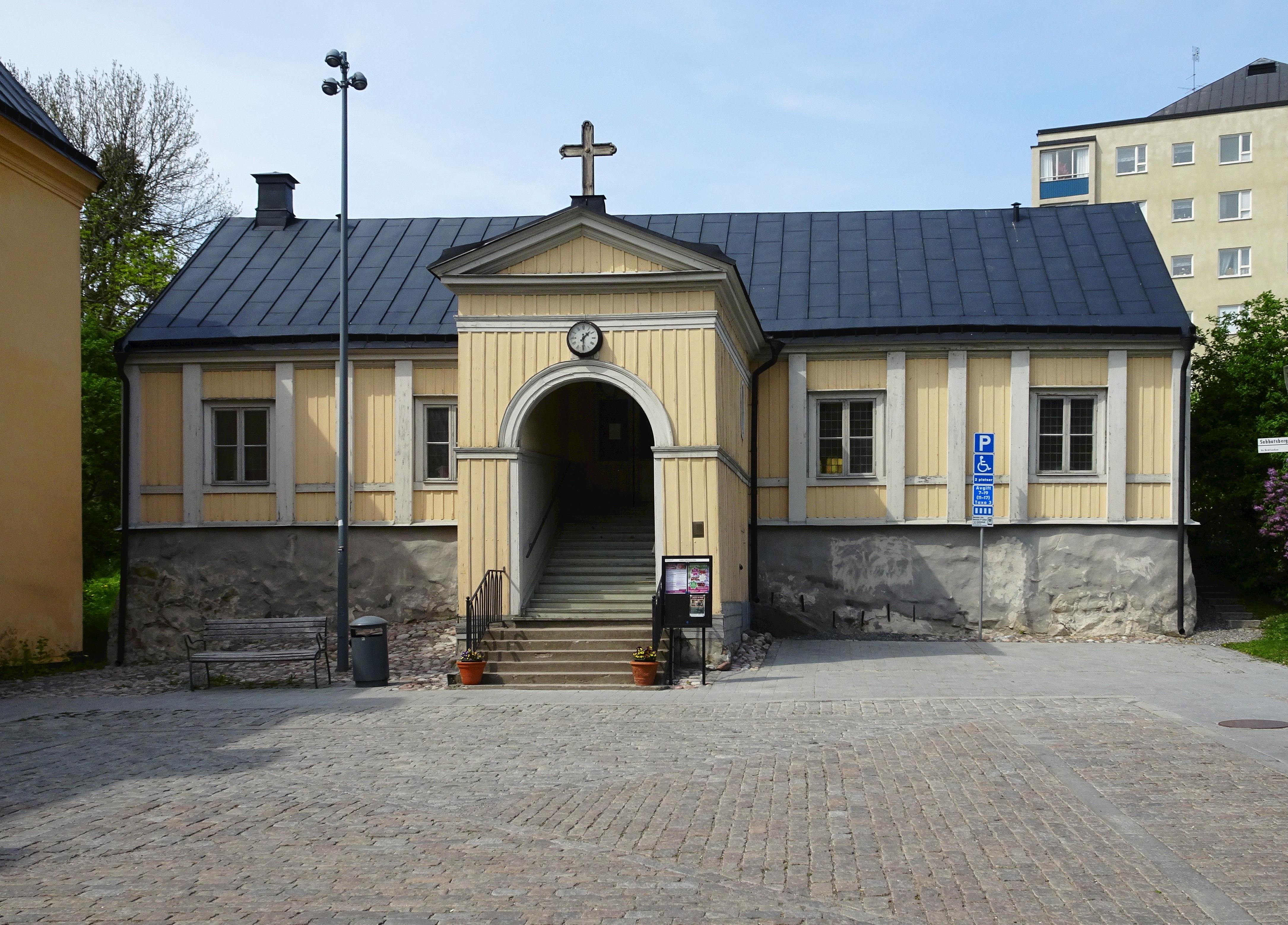 Bild av Sabbatsbergs kyrka