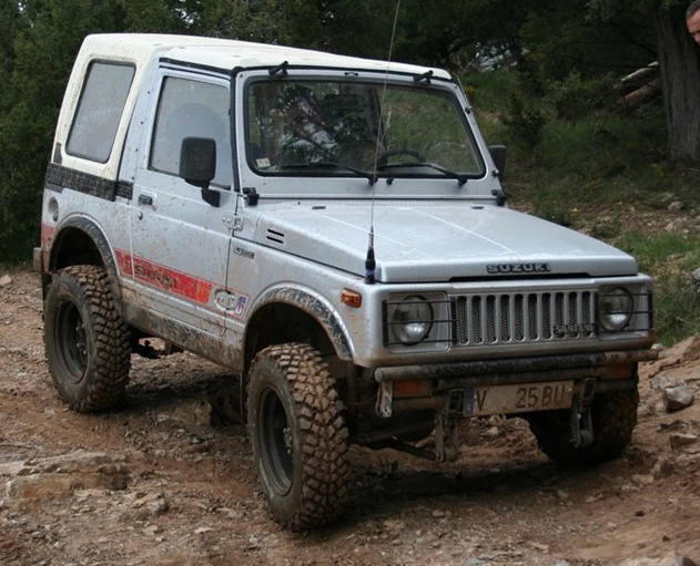 Suzuki Samurai Off Road Parts