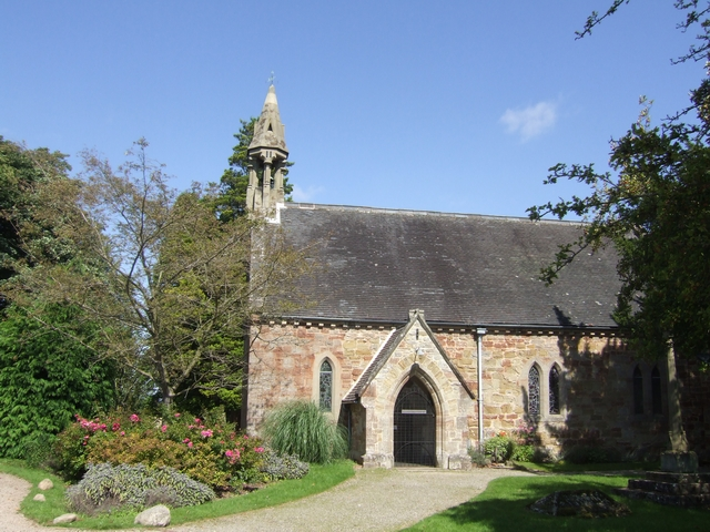 St Nicholas' parish church, Oldbury, Shropshire, seen from the south