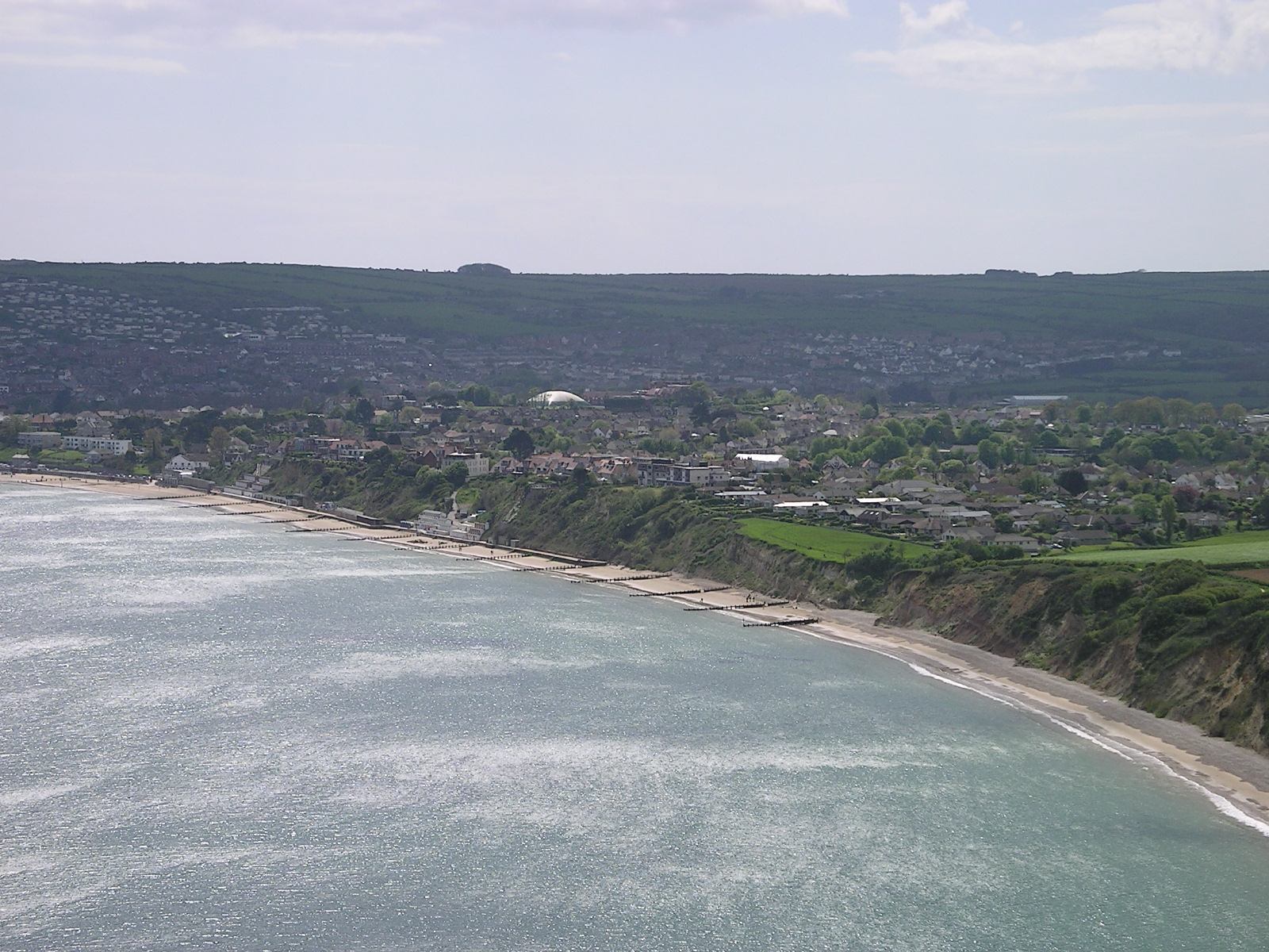 Depiction of Swanage