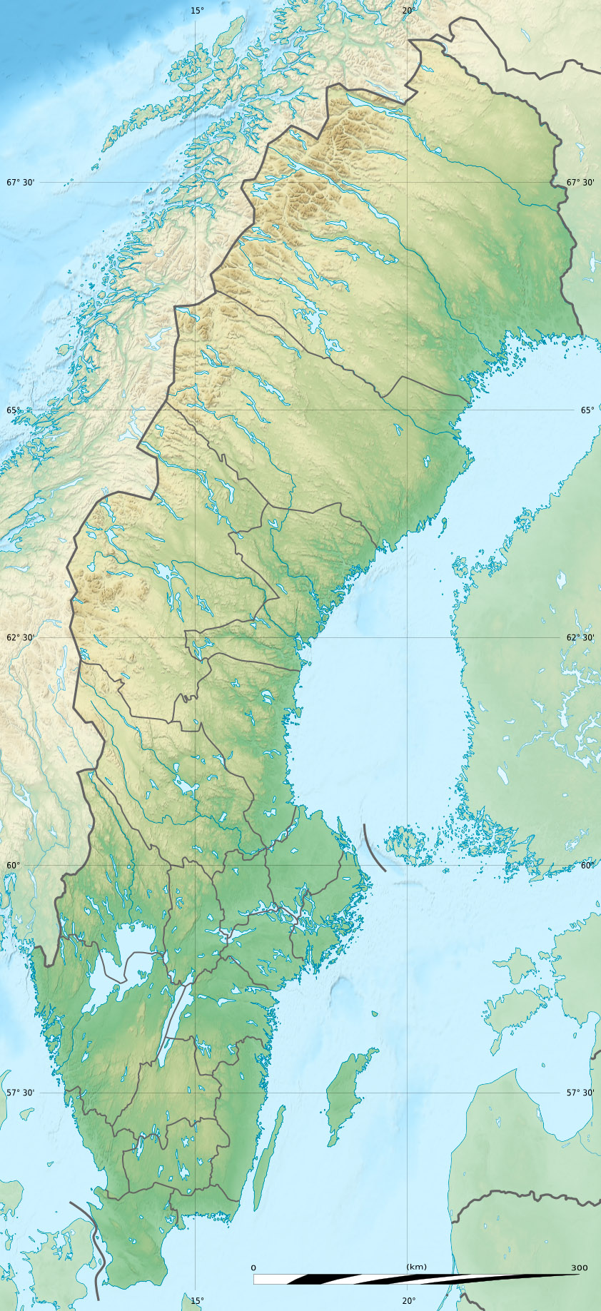 FileSweden Relief Location Mapjpg Wikimedia Commons - Sweden map wiki