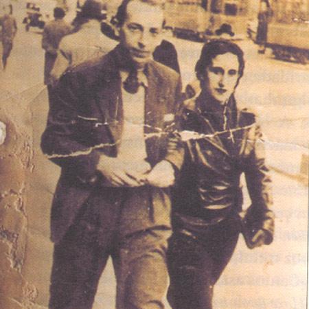 File:Syra Alonso e o pintor Francisco Miguel en Madrid en 1934.jpg