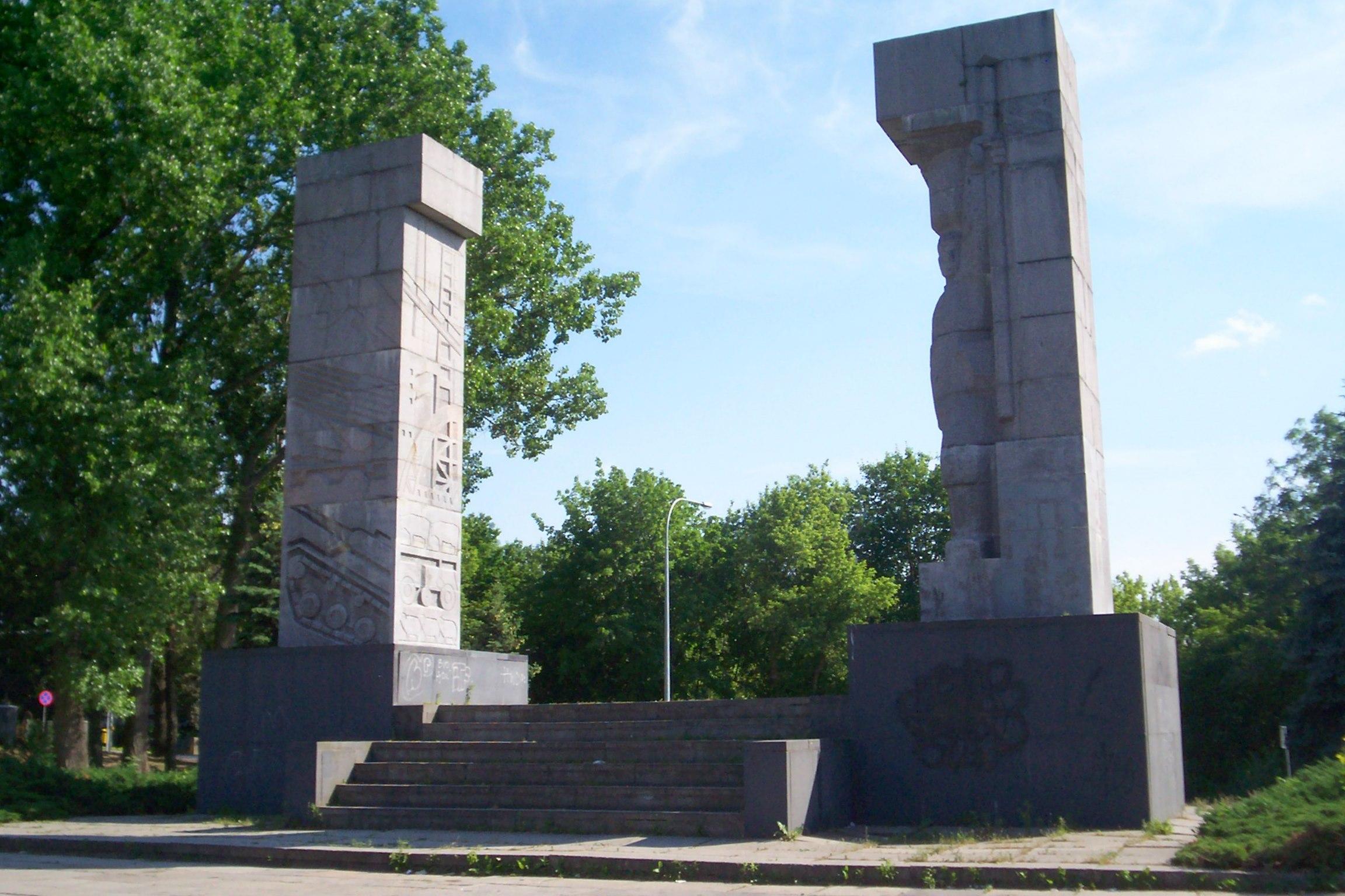 Pomnik Armii Czerwonej w Olsztynie