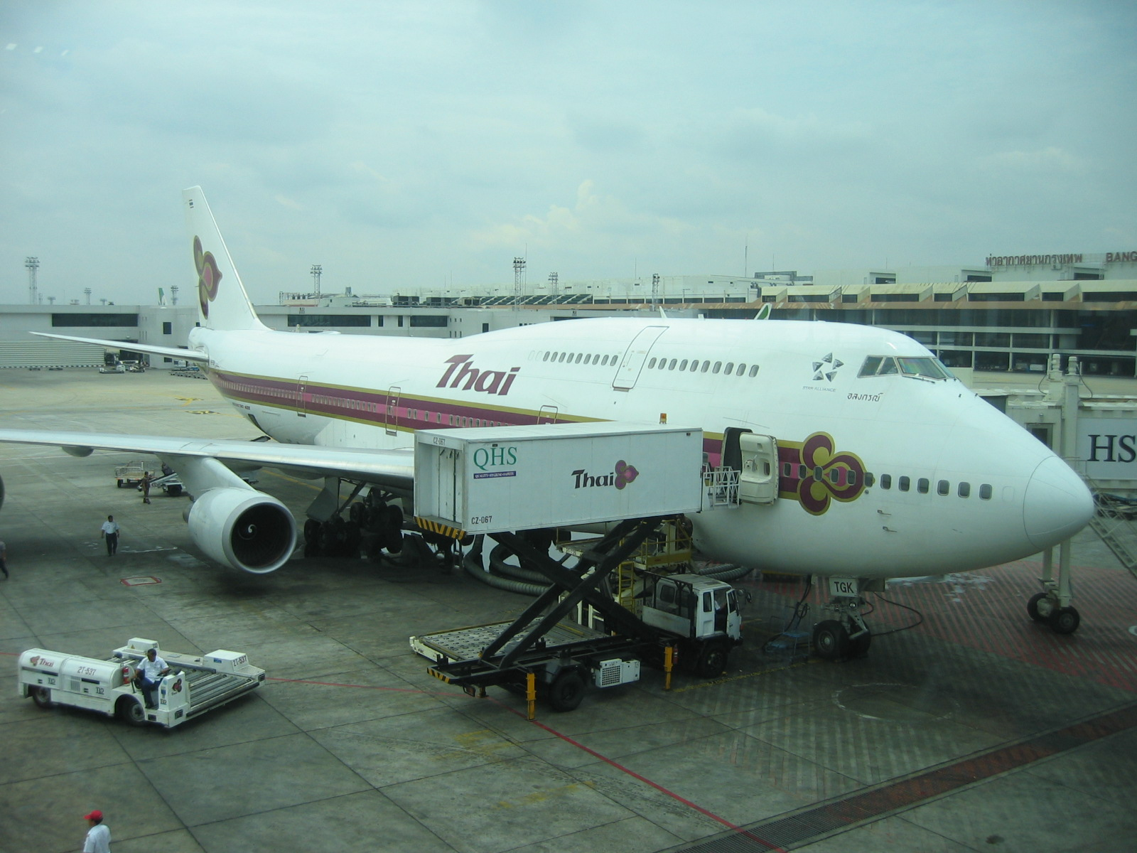 Download this Description Thai Airways Int Boeing Bkk picture
