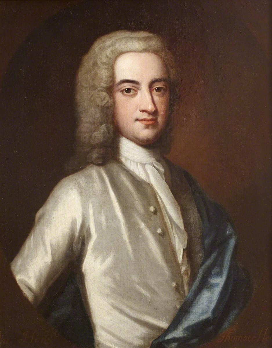 ''The Honourable Thomas Hervey (1699–1775), MP'' by [[John Fayram