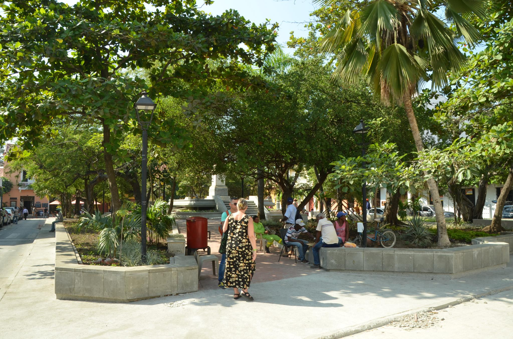 File:The Plaza Fernandez De Madrid, Cartagena, Colombia
