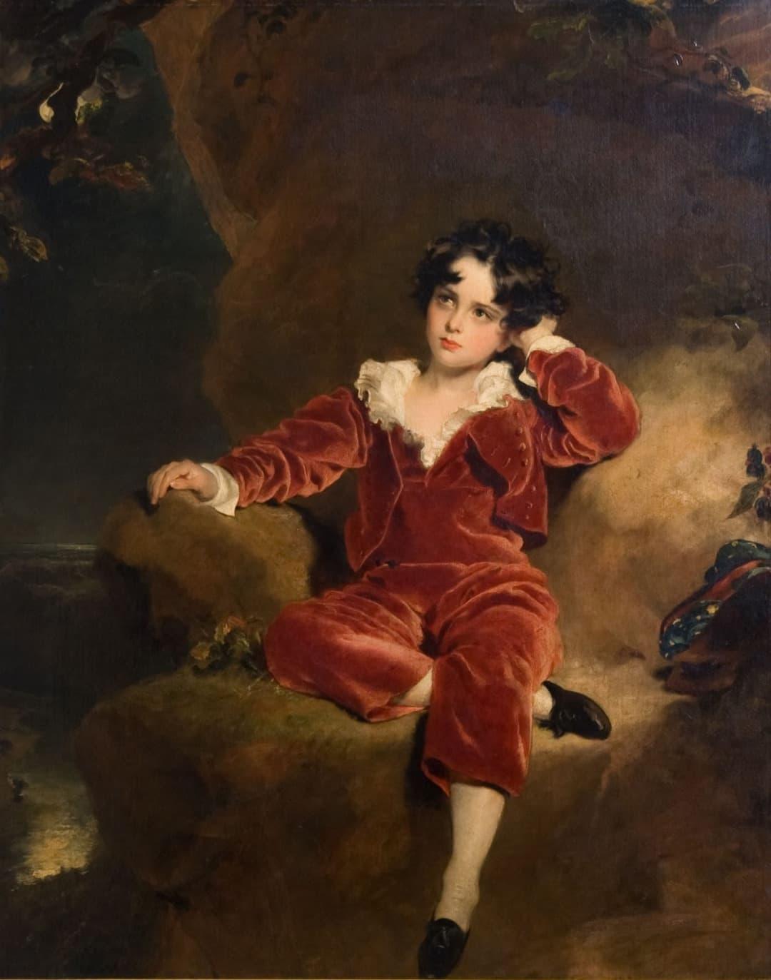 Thomas lawrence la palette et le r ve for Artiste peintre anglais