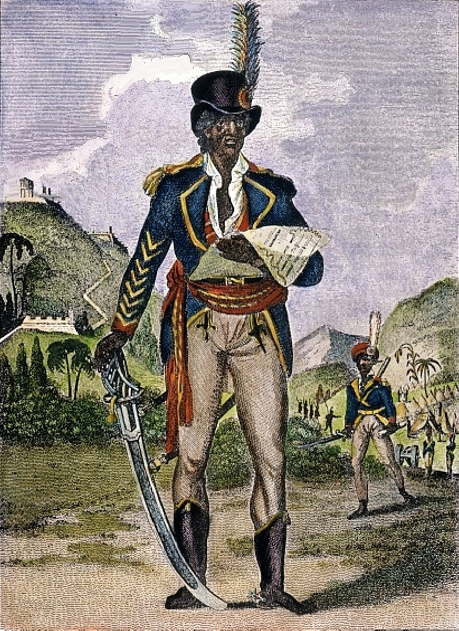toussaint l ouverture As a young boy, jacob lawrence was confused and frustrated by the palpable absence of black leaders and history figures in his school lessons.