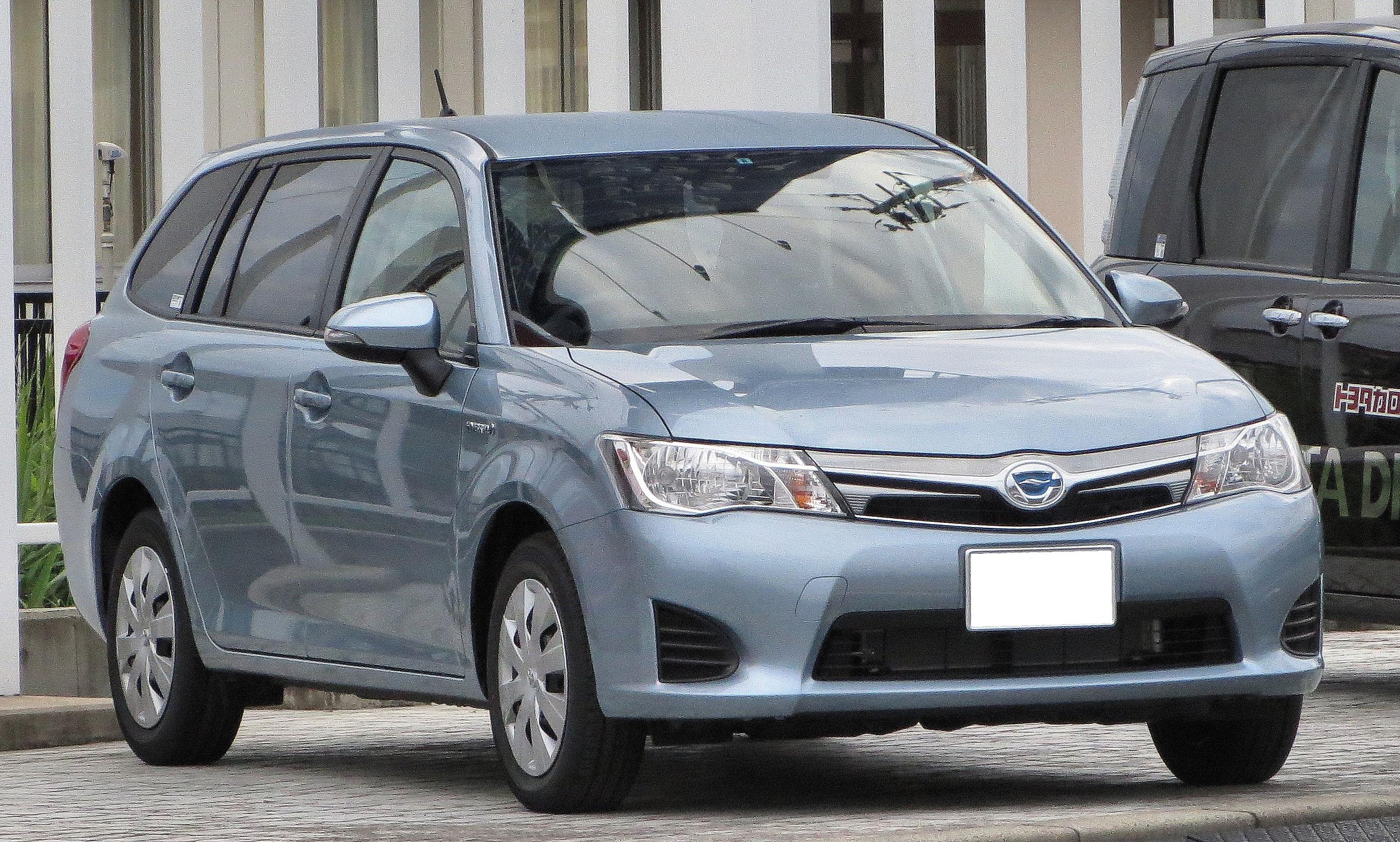 File Toyota Corolla Fielder Nke165g Hybrid Jpg