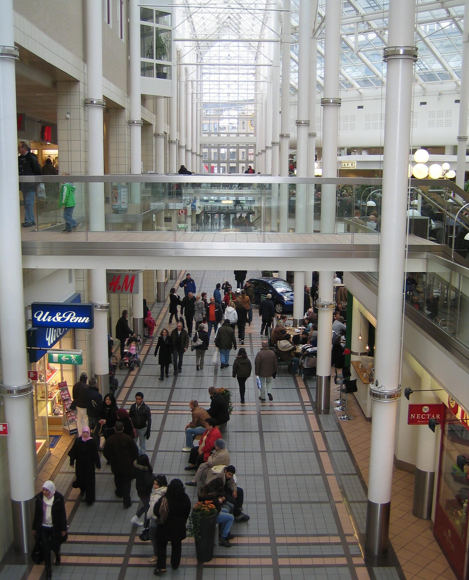 köpcenter stockholm