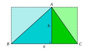 Aire D Un Triangle Wikipedia