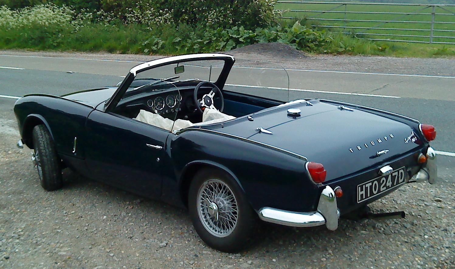 triumph spitfire. Black Bedroom Furniture Sets. Home Design Ideas
