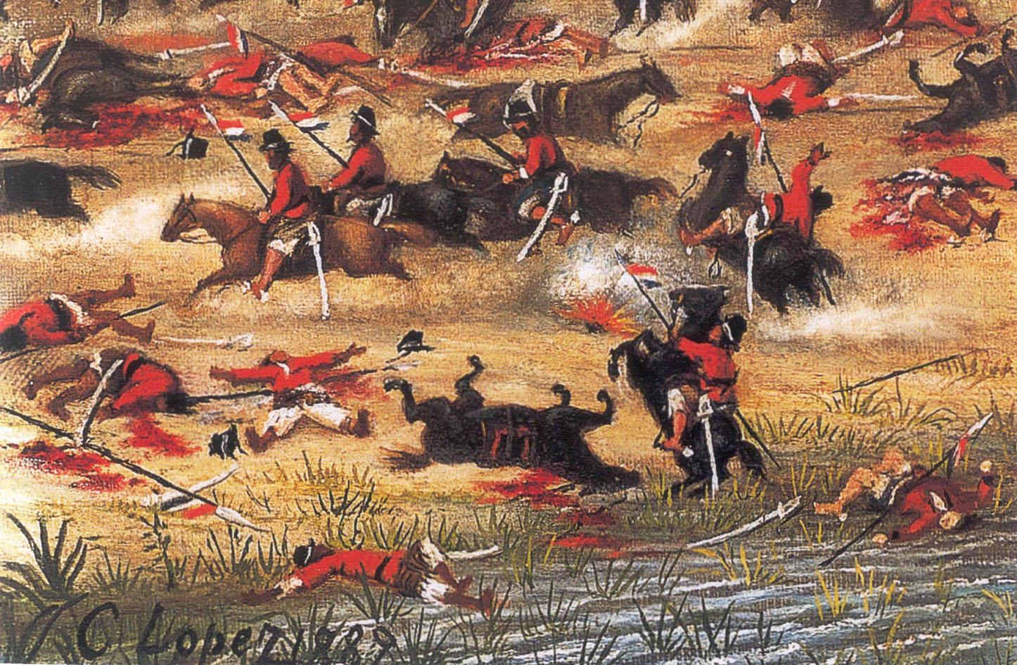 קרב טויוטי, פרגוואי