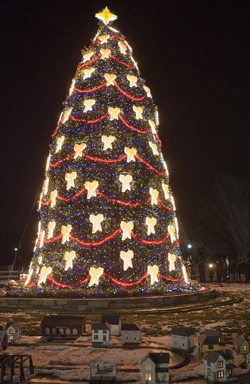 Amerikanische Weihnachtsbeleuchtung.National Christmas Tree Wikipedia