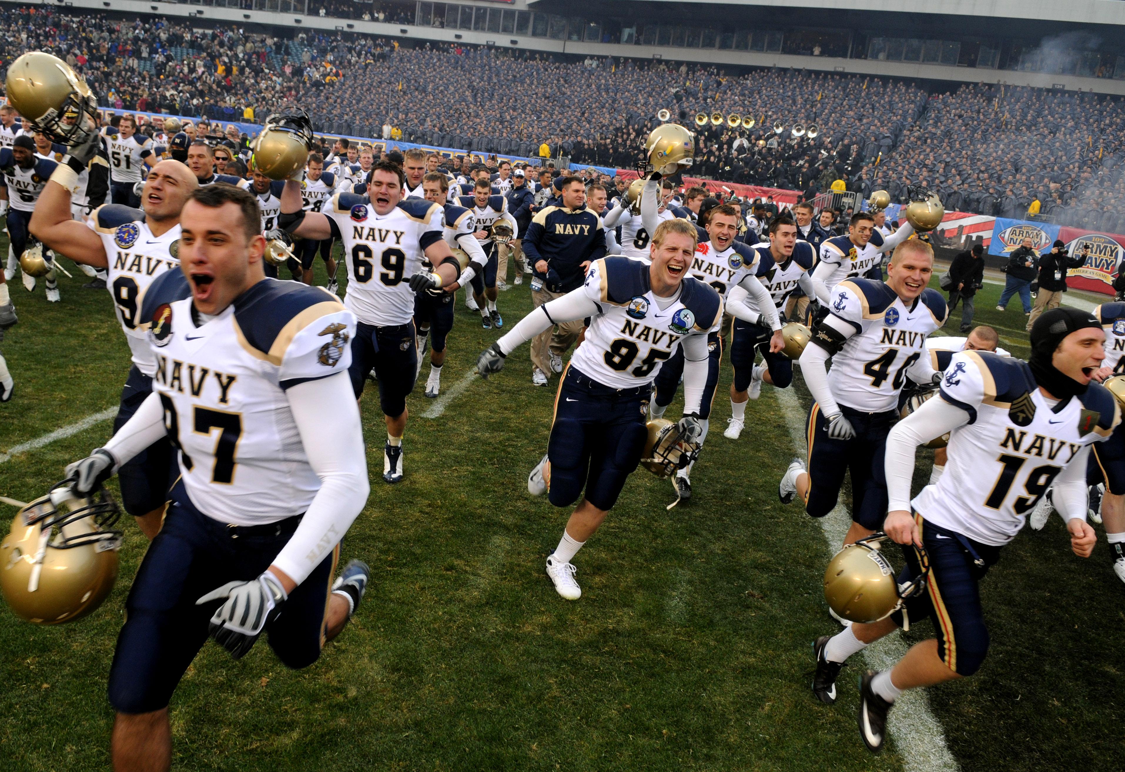 Naval Academy Football Injury Black Oxford Shoes