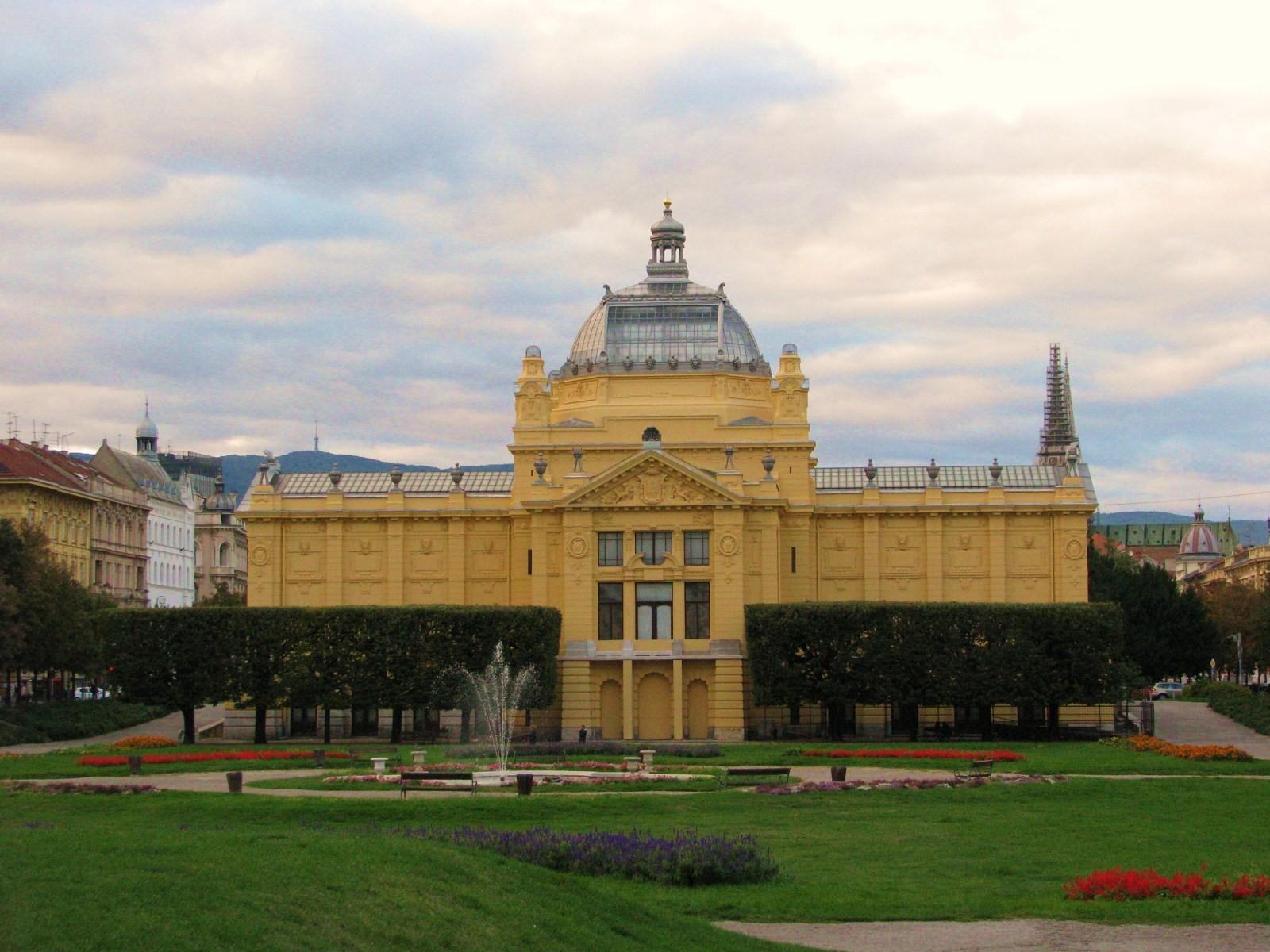 File Umjetnicki Paviljon Zagreb Jpg Wikimedia Commons