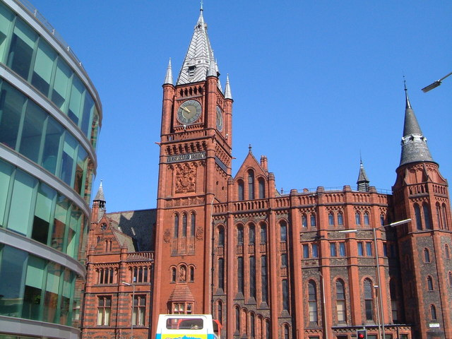 File Victoria Building University Of Liverpool Geograph
