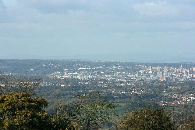 View from Lansdown (Clifton Suspension Bridge) - geograph.org.uk - 604284