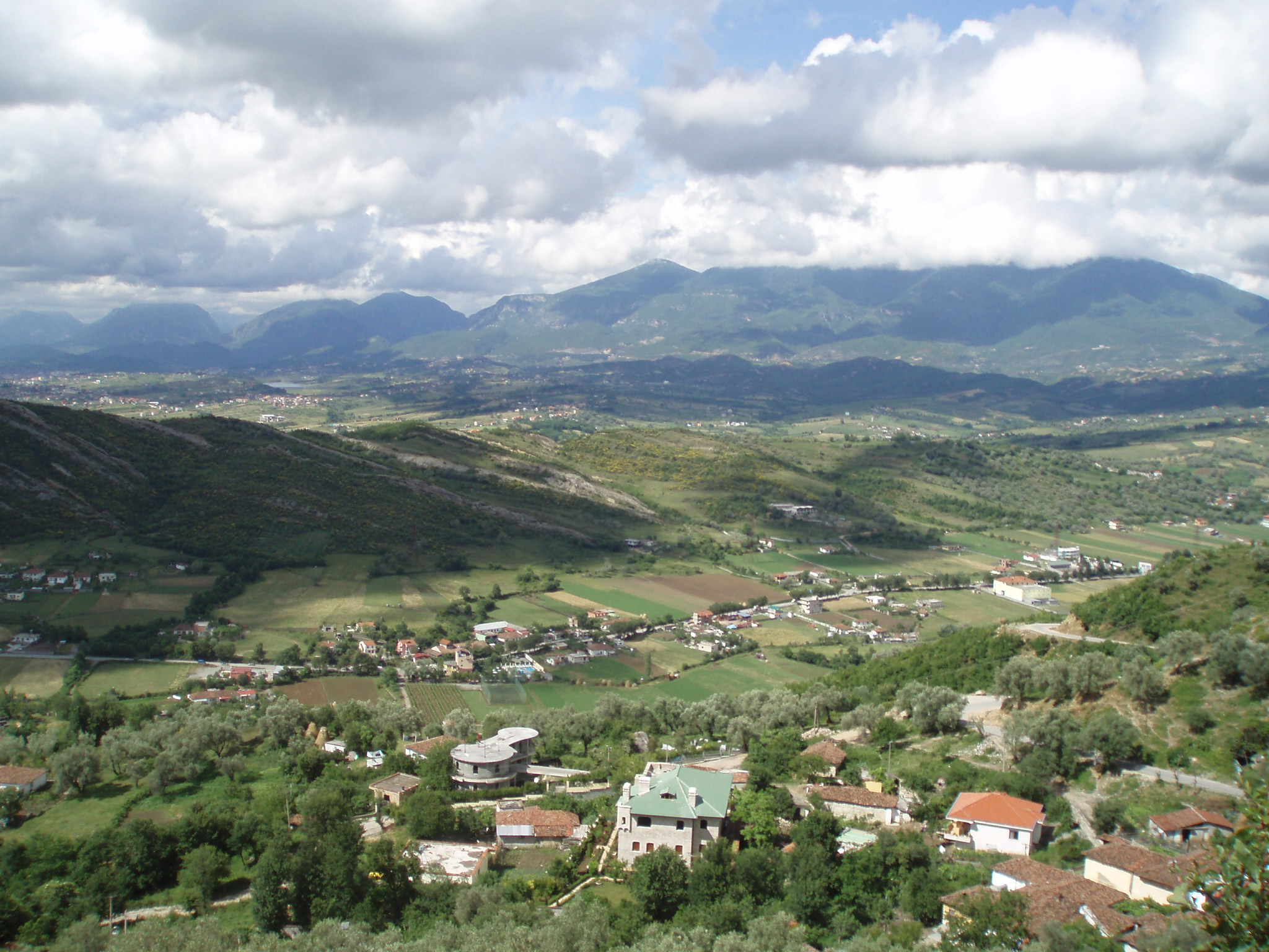 View from Petrela, Albania.JPG