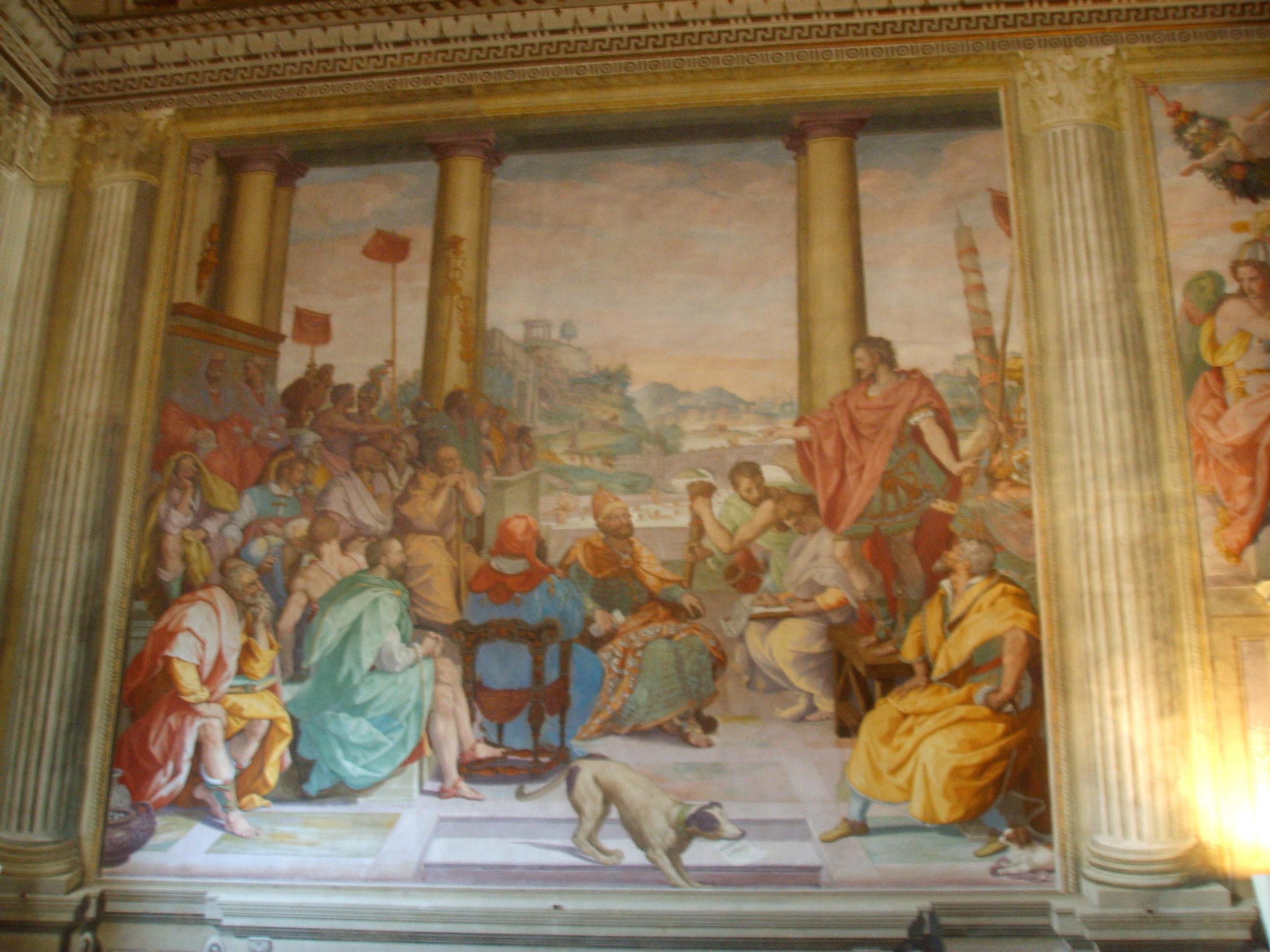 Cappella Di Villa Suardi S Barbara Trescore Balneario Bg