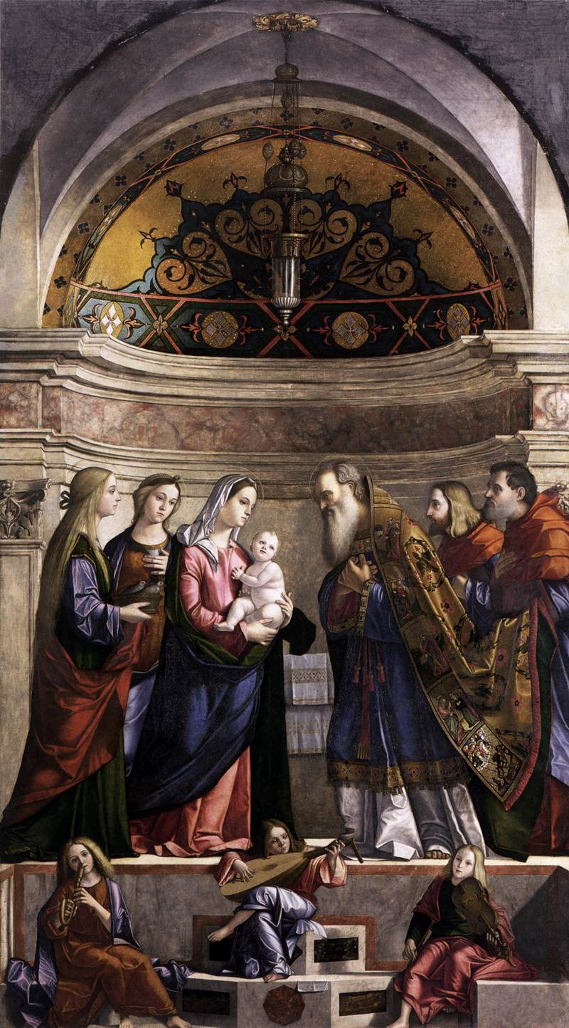 Présentation De L Application Zedge: File:Vittore Carpaccio, Presentation Of Jesus In The