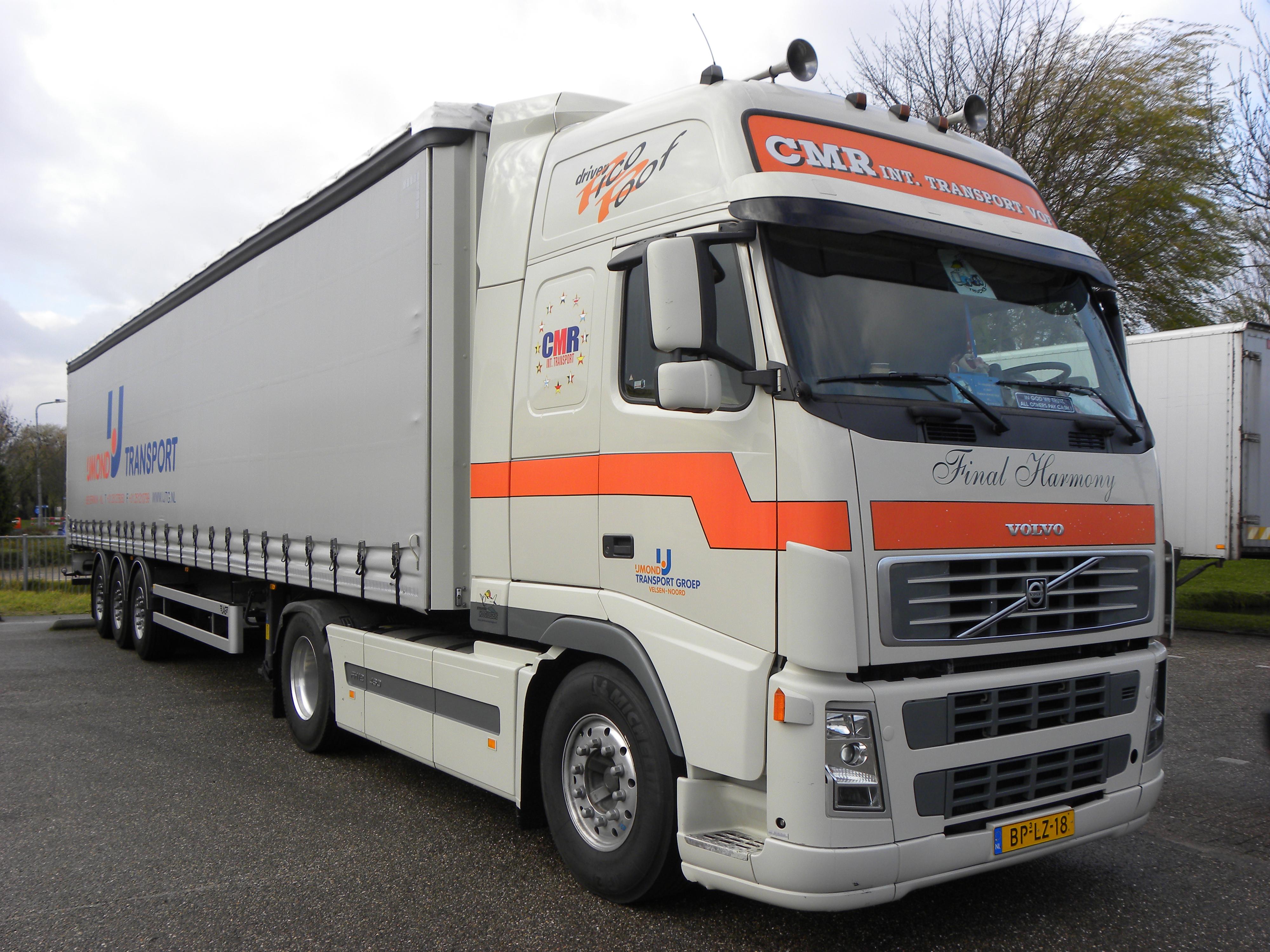File Volvo Fh 12 480 Ijmond Transport Groep Velsen Noord