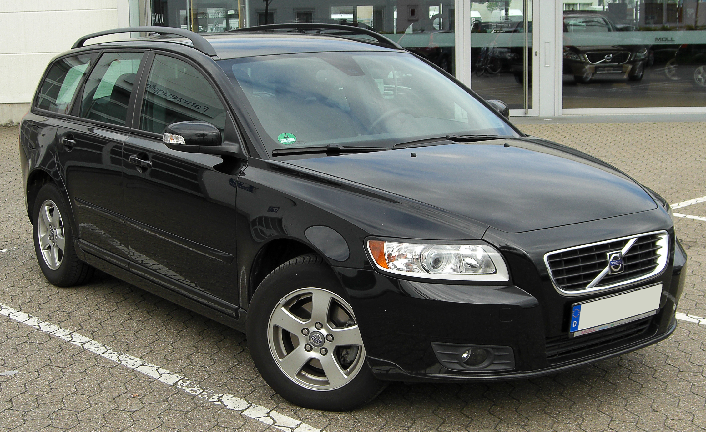 File Volvo V50 1 6 D Jpg Wikimedia Commons