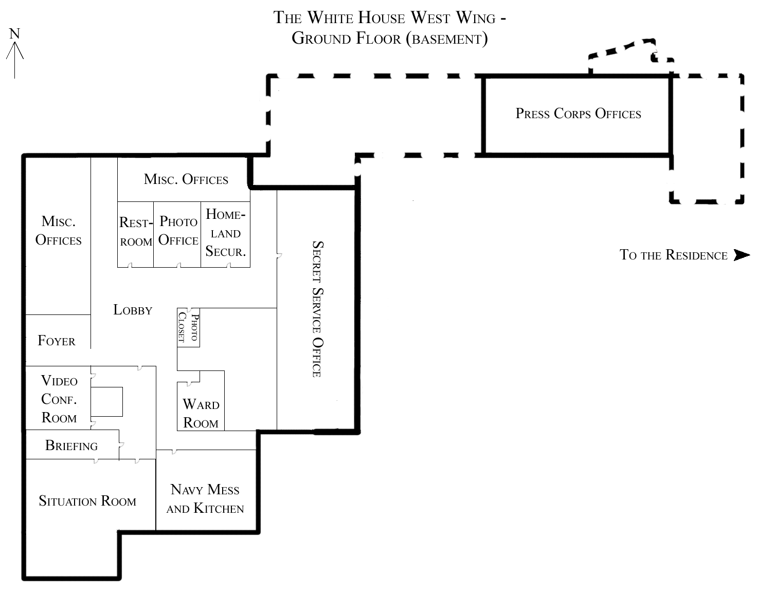 File:White House West Wing Ground Floor.png