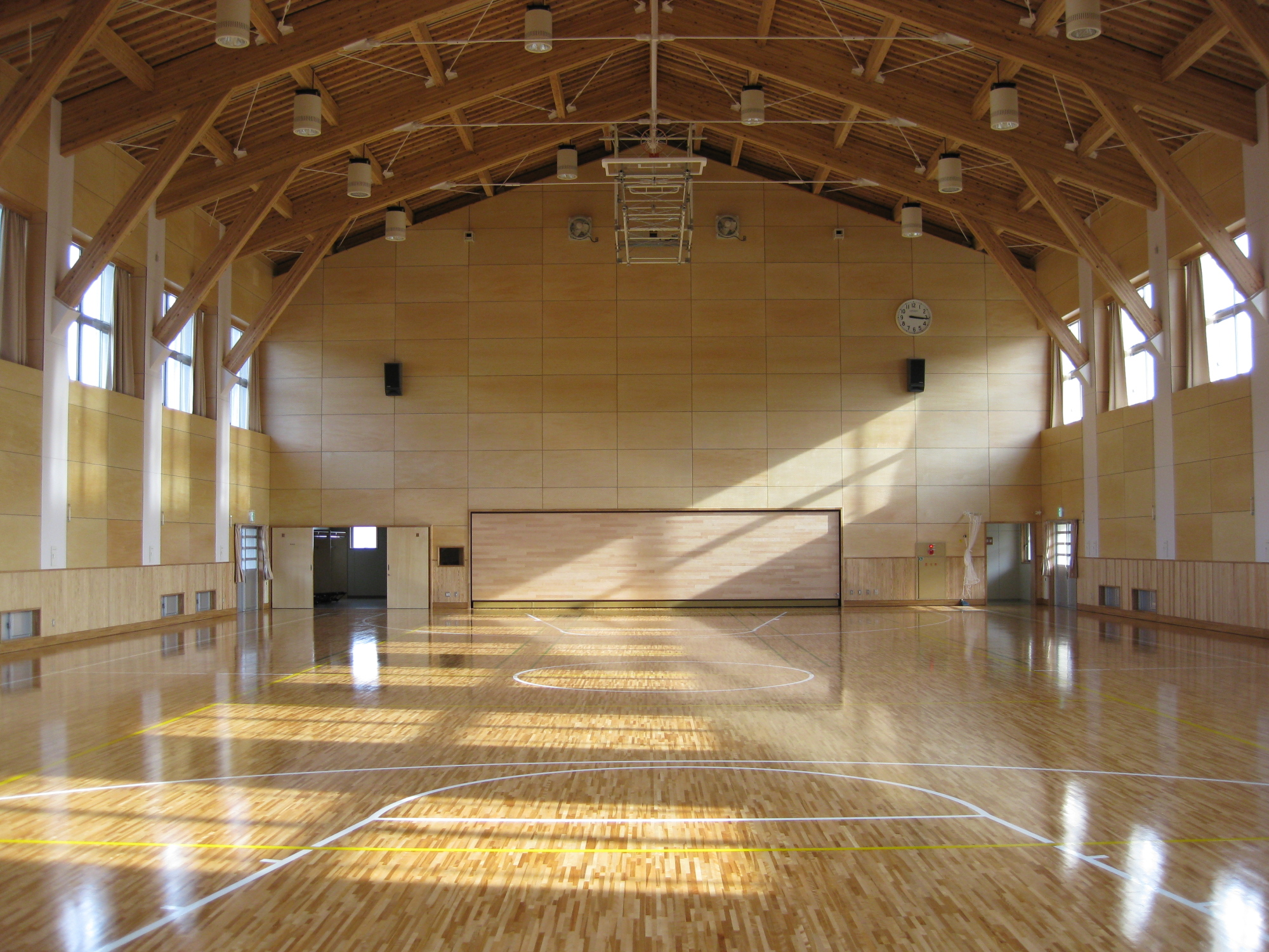 Dimensions of basketball court all scores info