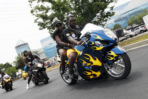 Description Yellow flame Hayabusa at Black Bike Week Festival 2008.jpg