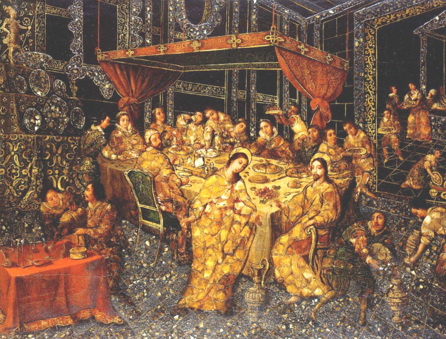 File:'The Wedding at Cana' by Nicolás Correa, 1693.jpg