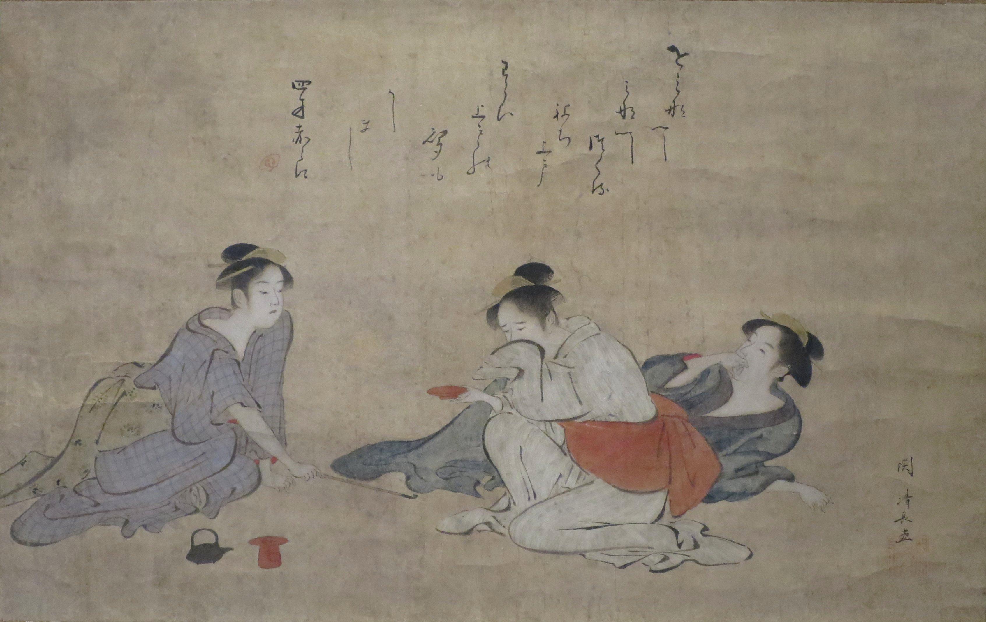 Three drunken women