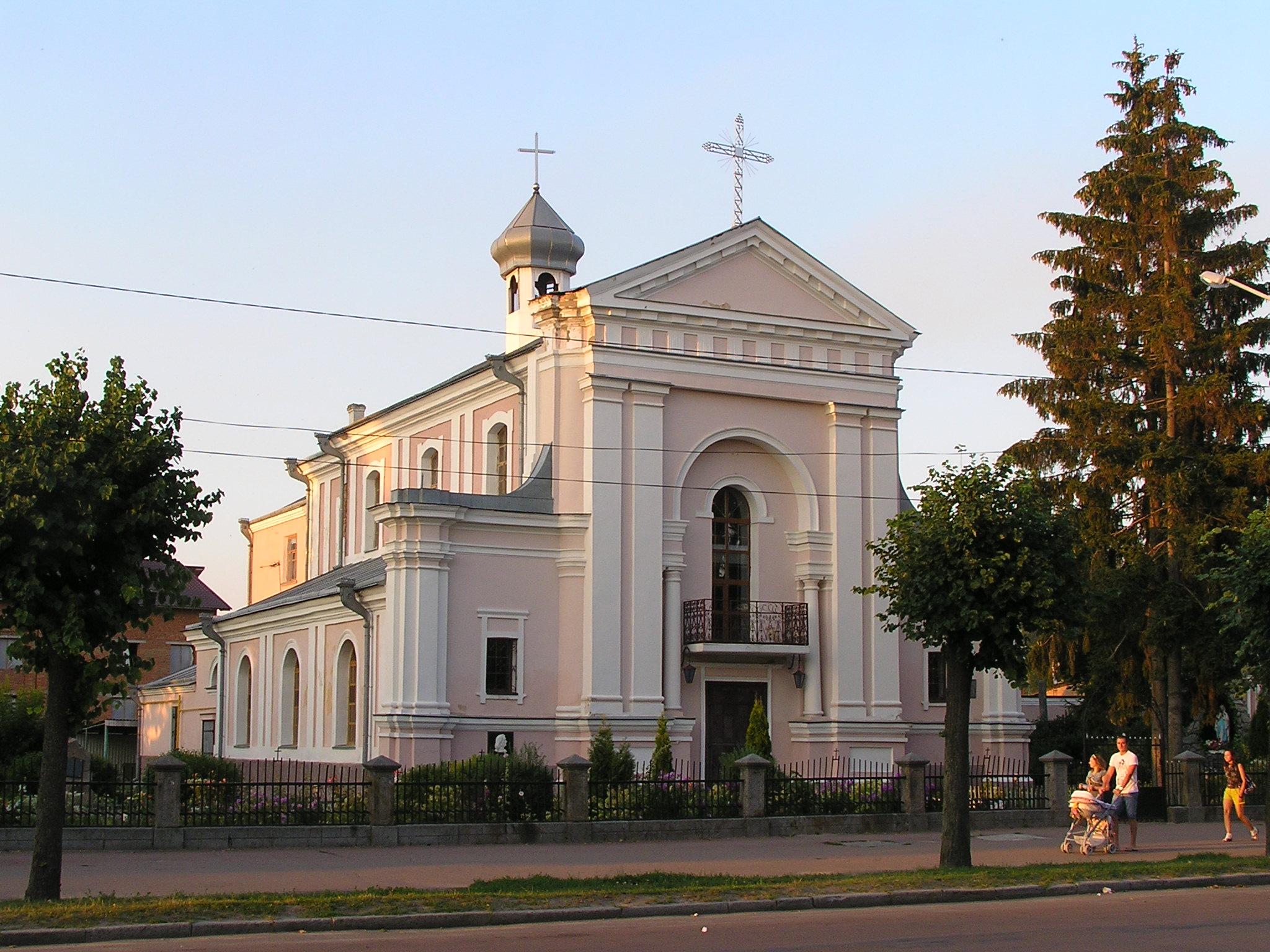 Монастырь босых кармелитов, Бердичев в Житомирской области