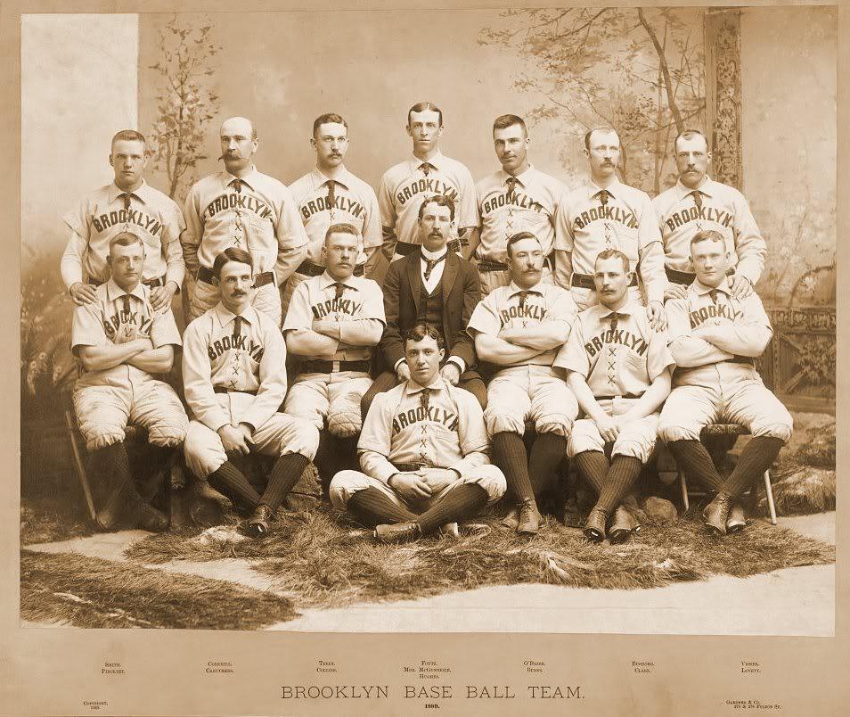 1889 Brooklyn Bridegrooms Season Wikipedia