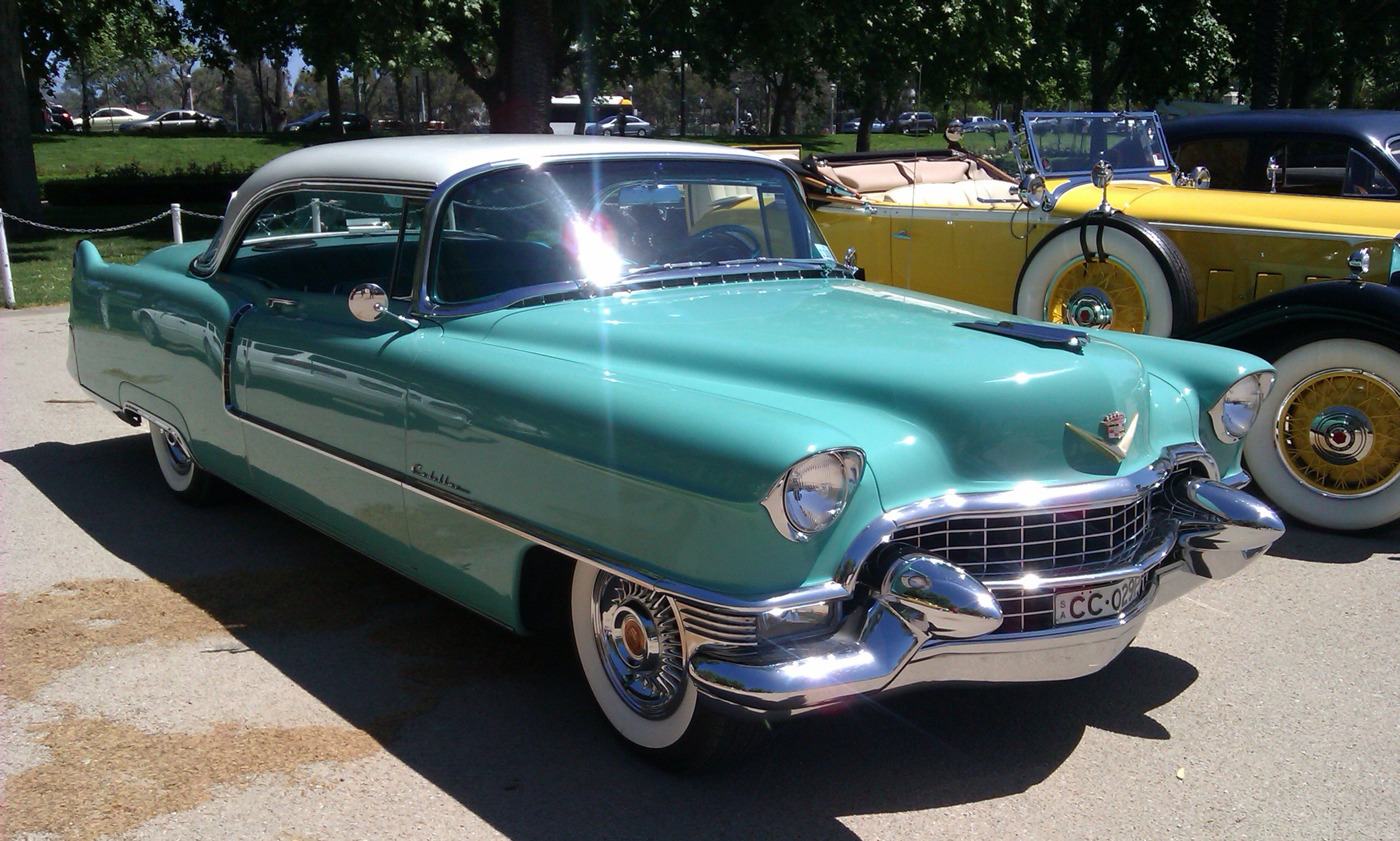 My grandma\'s 1953 Cadillac with 4881 miles : cars