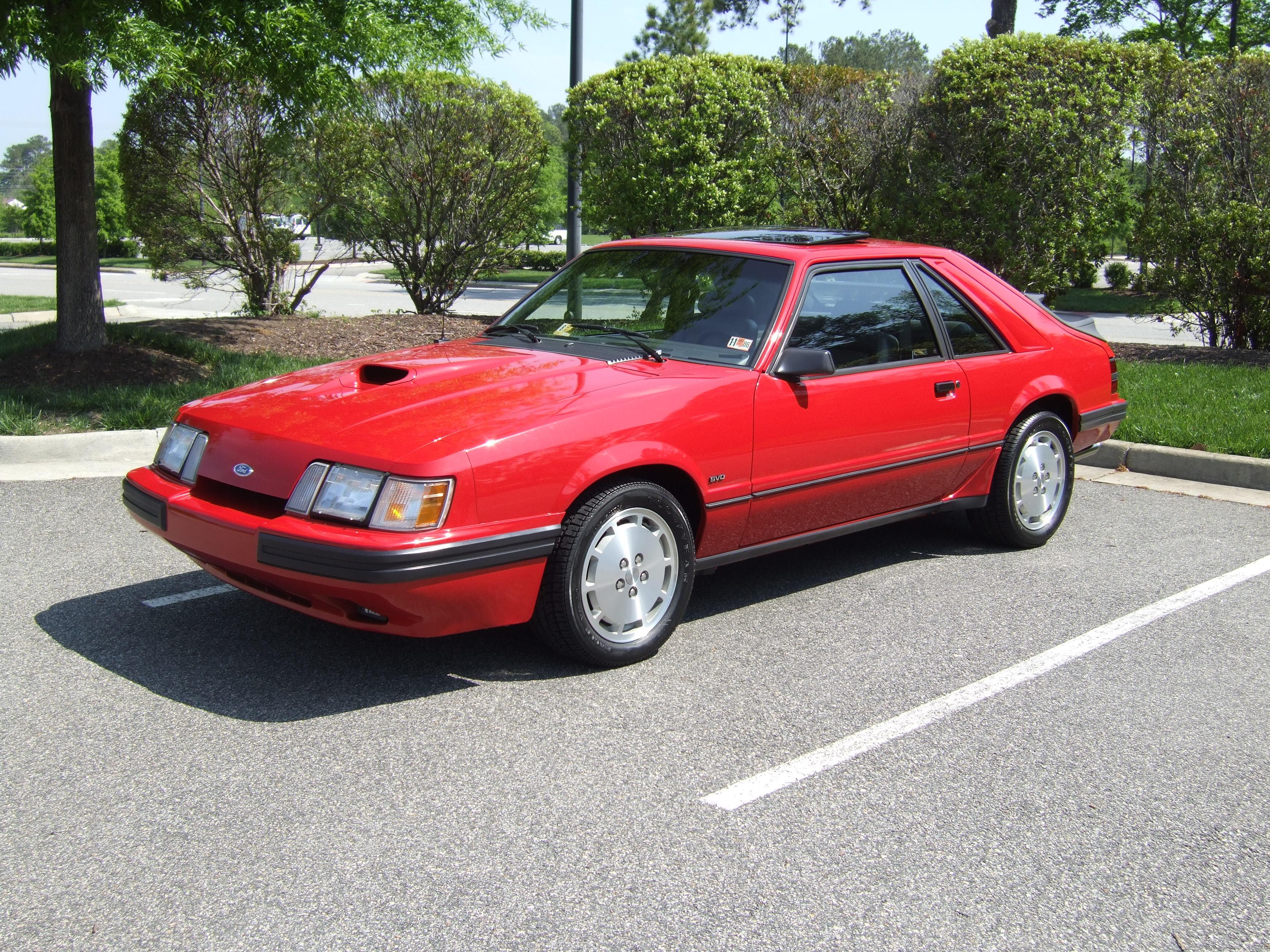 Mustang Svo Wheels 1986 Mustang Svo