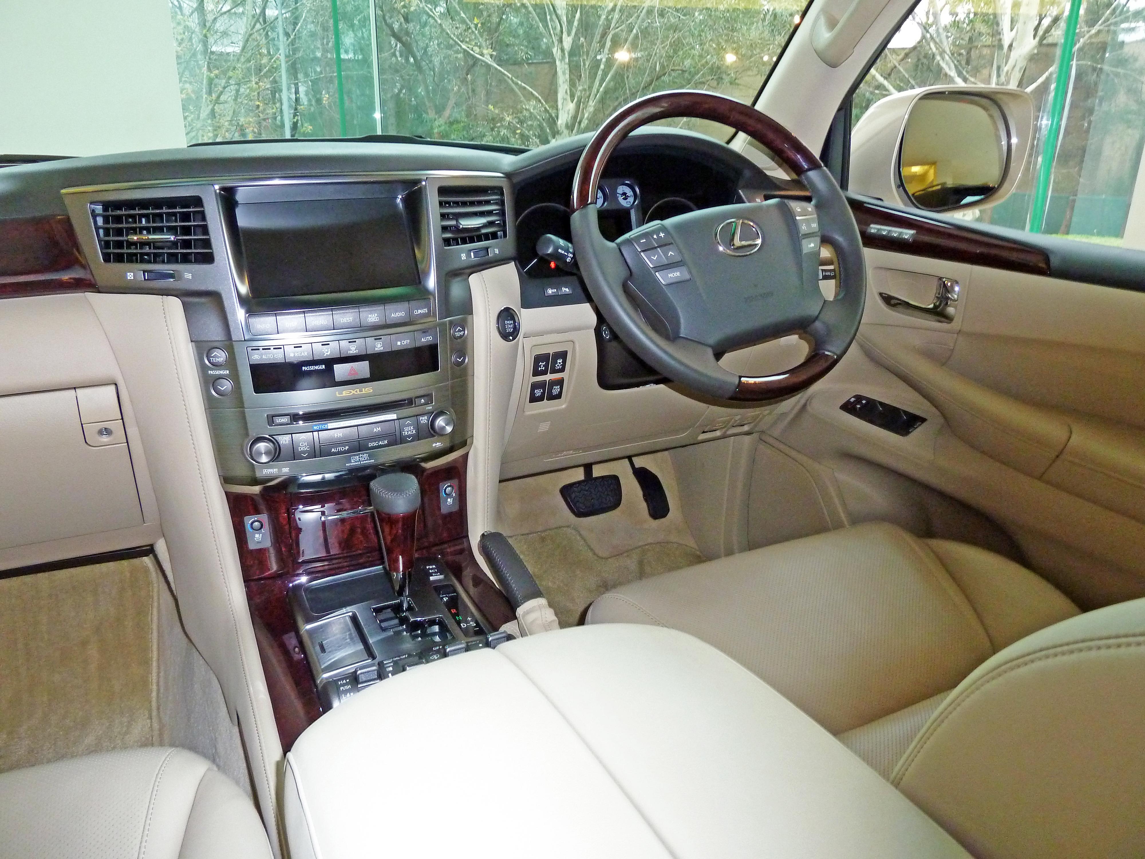 lexus lx470 interior colors