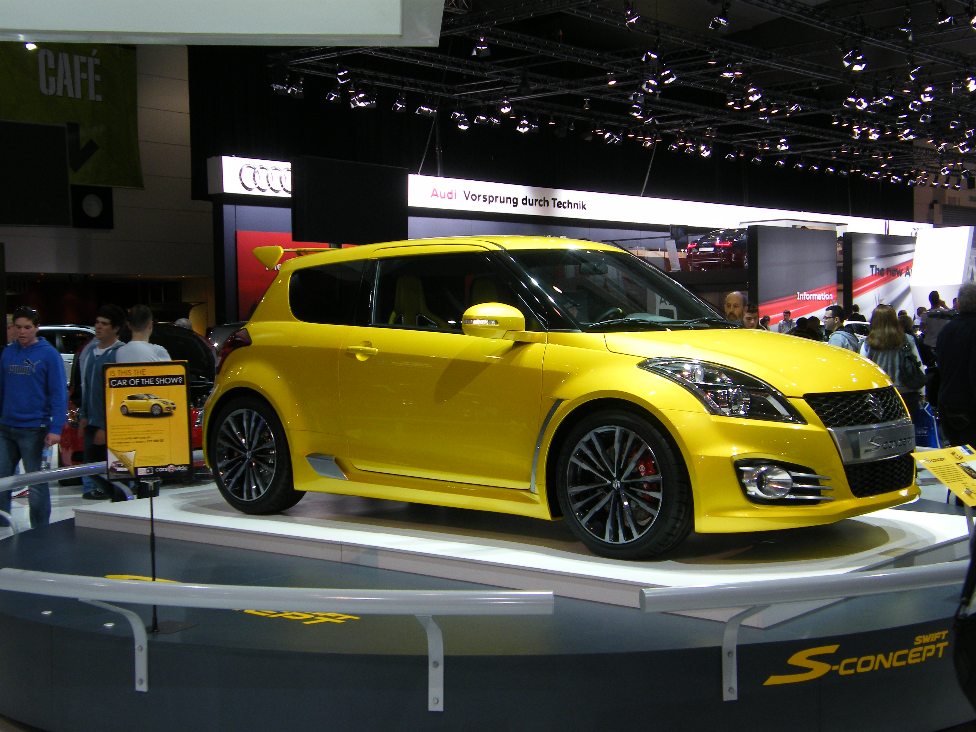 Suzuki Swift Related Imagesstart 200 Weili Automotive Network 2003 Aerio Gs Sedan In Electric Yellow Click To See Large Description 2011 S Concept