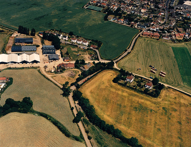 Aerial view of the Salvation Army Farm, Hadleigh - geograph.org.uk - 1594246