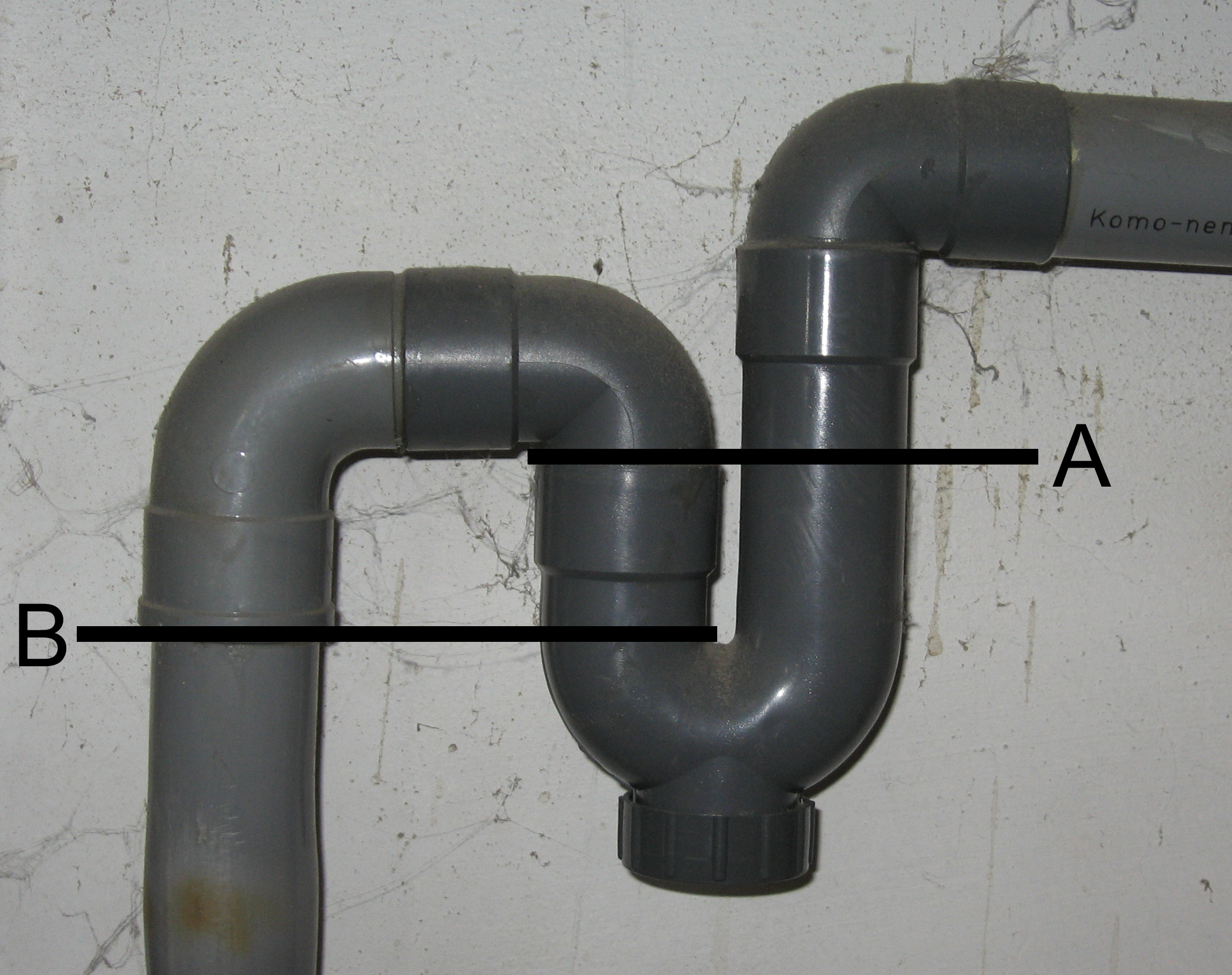 Siphon definition what is for Toilet drain pipe