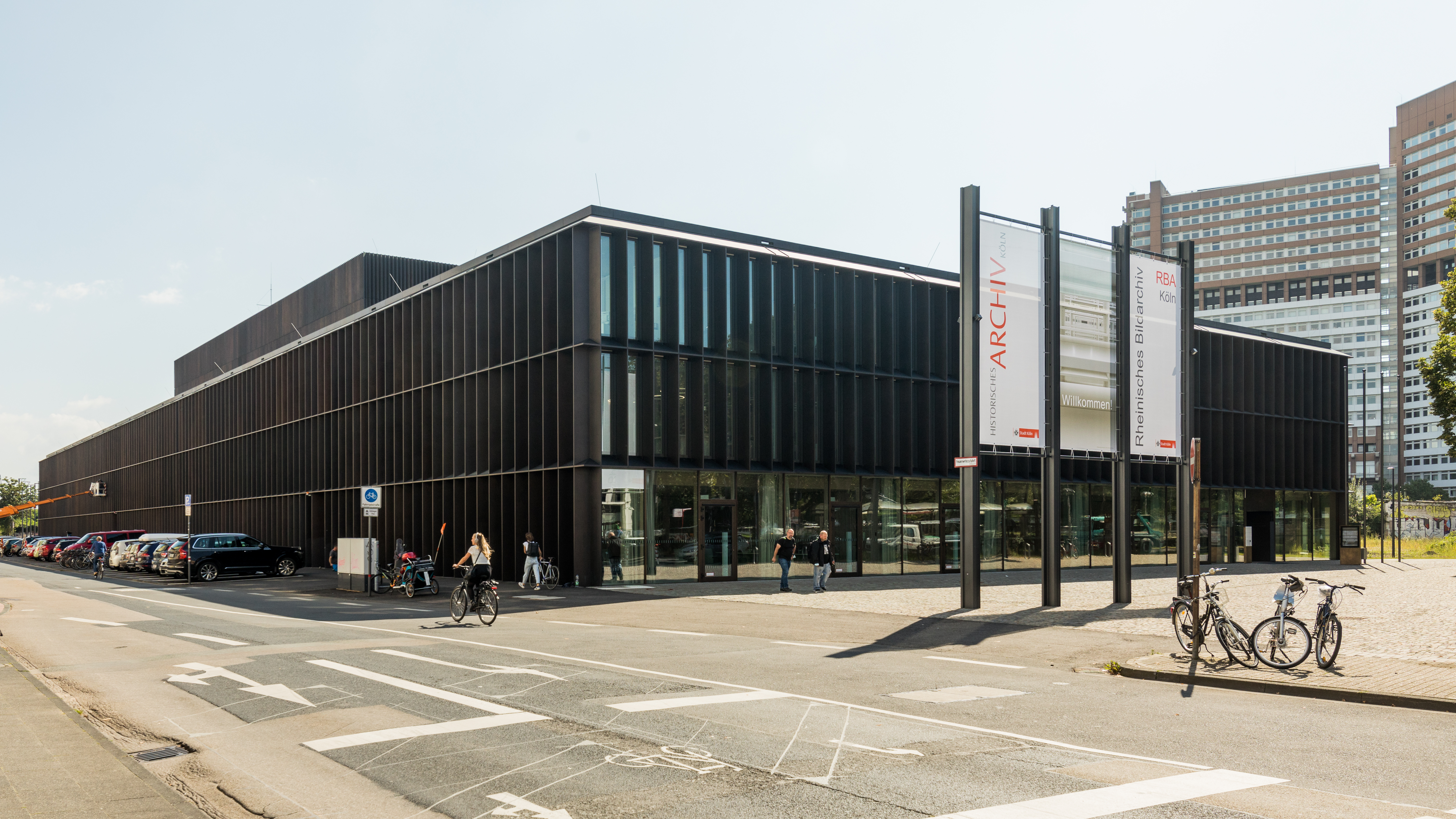 Archivgebäude Eifelwall, 2021